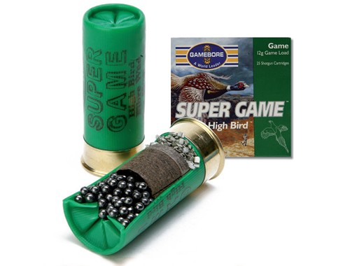 GAMEBORE SUPER GAME shotgun cartridges