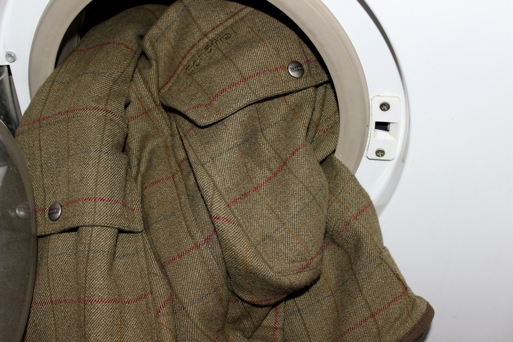Tweeds in washing machine