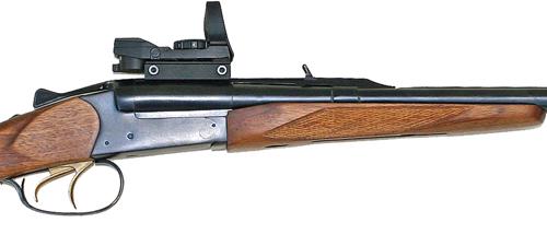 Baikal double rifle