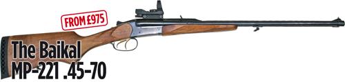 Baikal double rifle MP-221.45-70