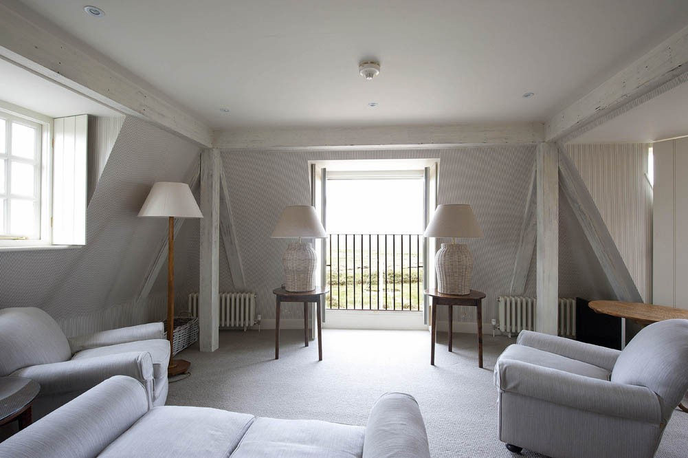 The Top Floor Suites Offer Luxurious Comfort And Stunning Views Out Over Marshes
