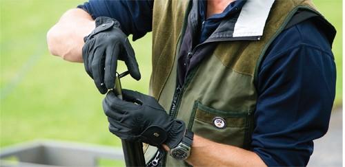 Clay pigeon shooting lessons choke