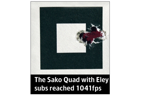 Sako Quad 1041fps