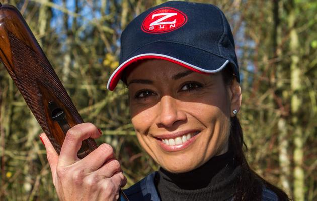 Melanie Sykes Clay Shooting