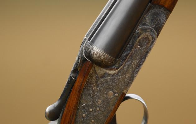 Side-by-side shotgun