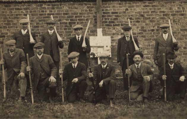 Gamekeepers of WWI