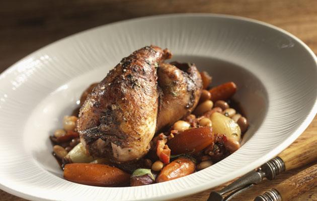 Pot roast partridge
