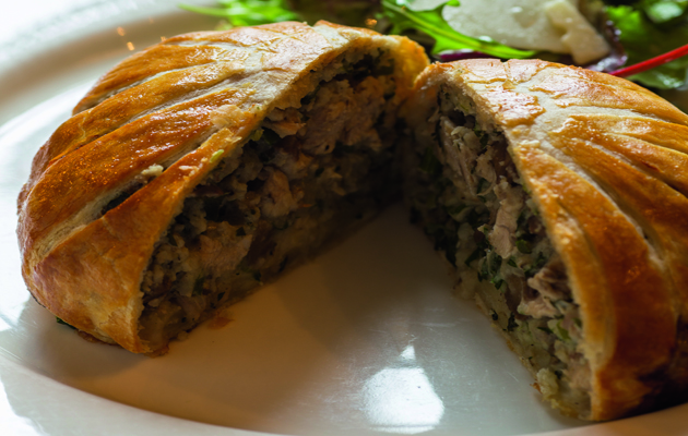 Two recipes for pheasant pies