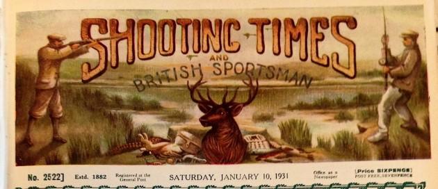 Shooting Times 10 Jan 1931