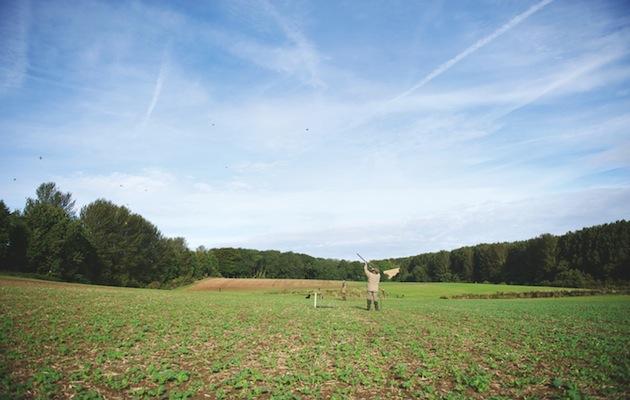 shooting in field