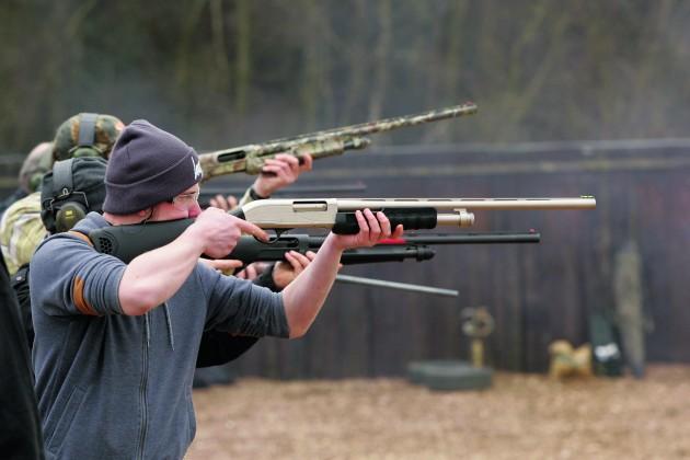 Bisley target shooting