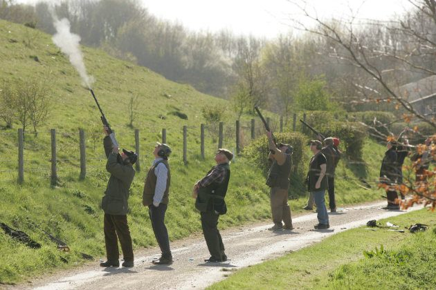 shotguns for clay pigeon shooting