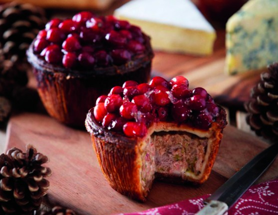 cranberry top game pies