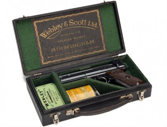 Webley & Scott air pistol