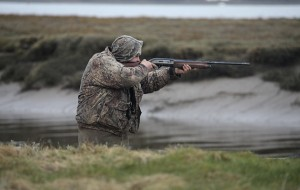 Duck stalking