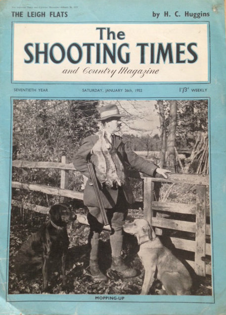 vintage shooting times cover