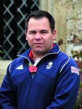 Olympic shooting team Steve Scott TeamGB announcement of shooting athletes for Rio 2016 Olympics. Bisham Abbey. Marlow. Buckinghamshire. England. UK. 10/11/2015. MANDATORY Credit Garry Bowden/SIPPA - NO UNAUTHORISED USE - 07837 394578