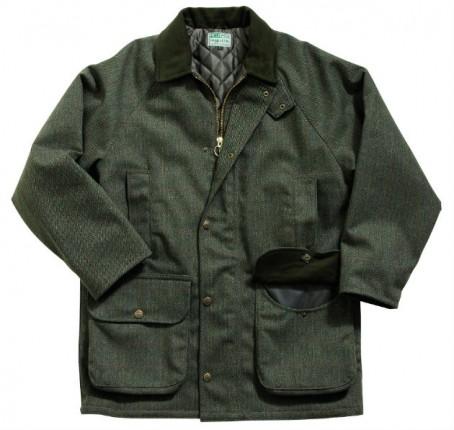 tweed waterproof jacket