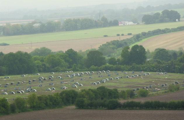 British farmland