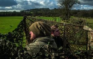 Crow shooting with a Shotkam