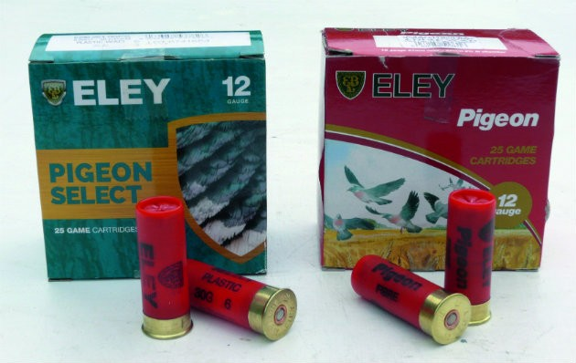 Eley Hawk pigeon cartridges