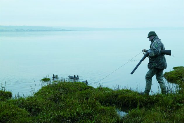 Wildfowling on foreshore
