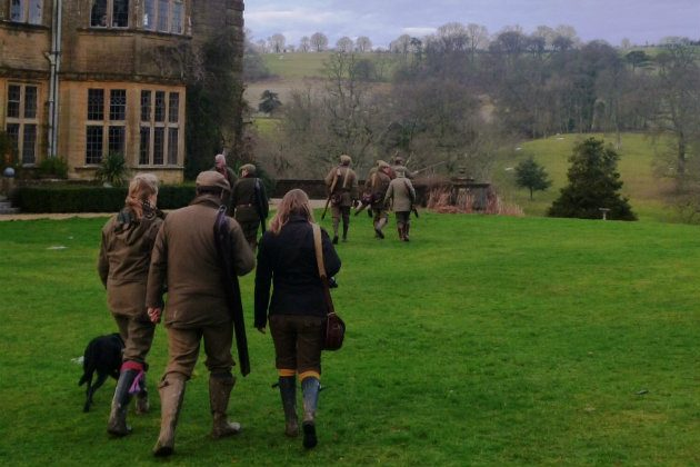going out gameshooting