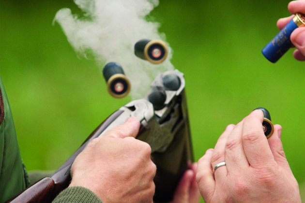 cartridges for clayshooting
