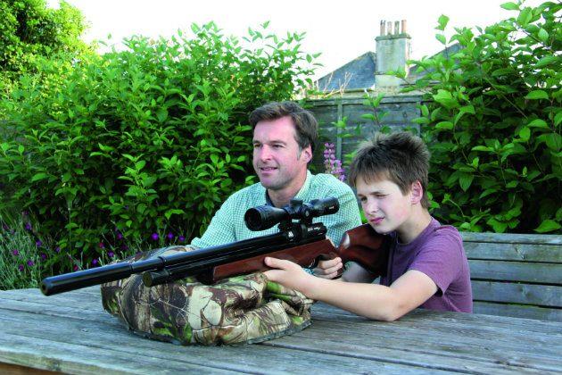 garden airgunning