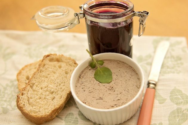 recipe for Grouse pate