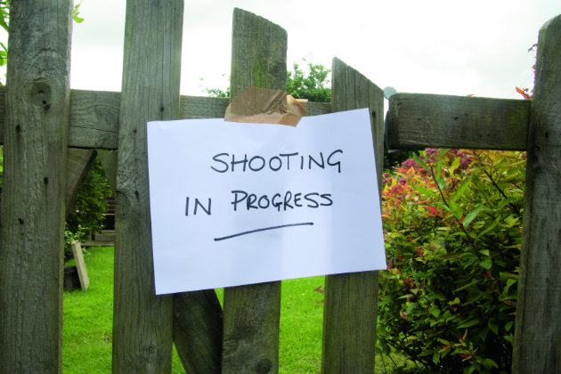 safety notice for garden airgunning