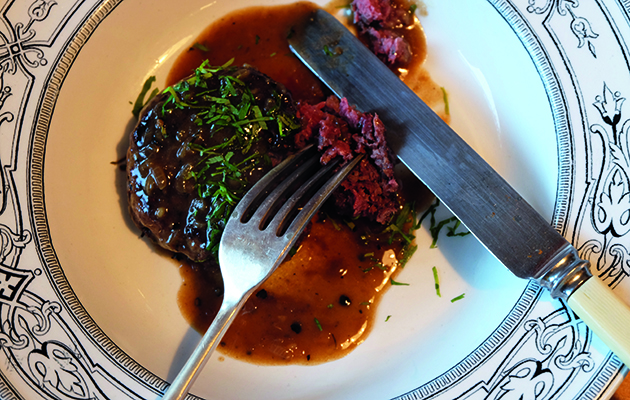 Recipe For Pigeon Burgers In A Peppercorn Sauce By Tim Maddams