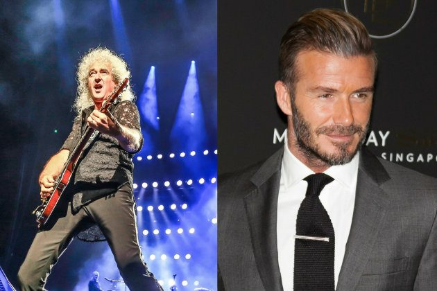 Brian May criticises David Beckham for partridge shooting