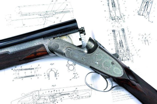 Boss over-and-under created by London gunmakers