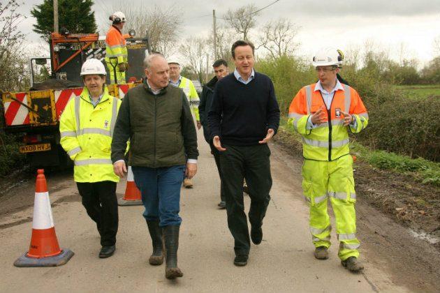 Ian Liddell-Grainger with David Cameron