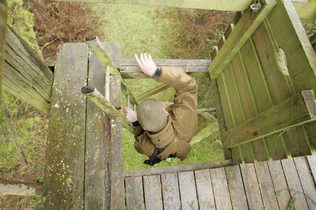 shooting pigeon tower