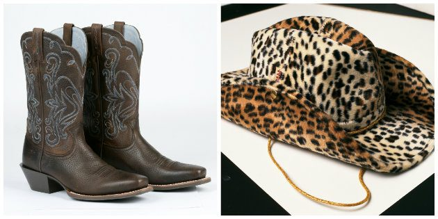 stetson and cowboy boots
