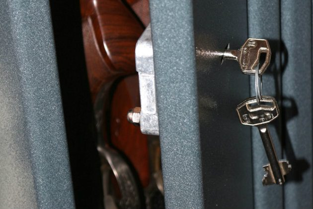 secure gun cabinet