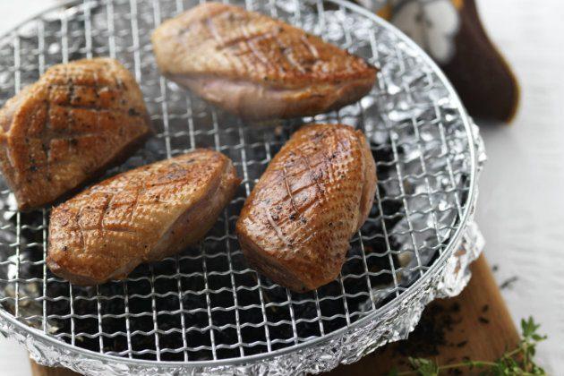 homemade meat smoker