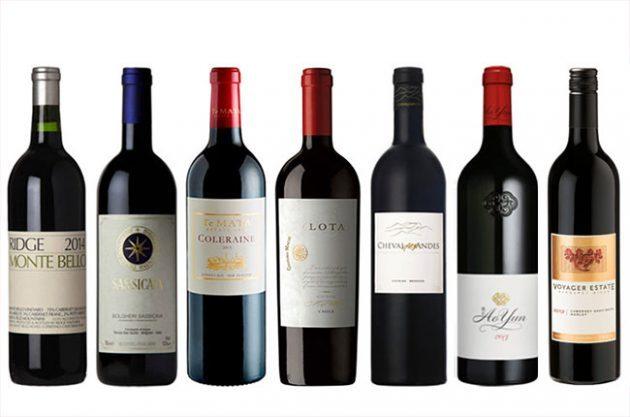 Bordeaux red blends