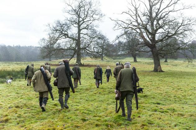 shooters in field