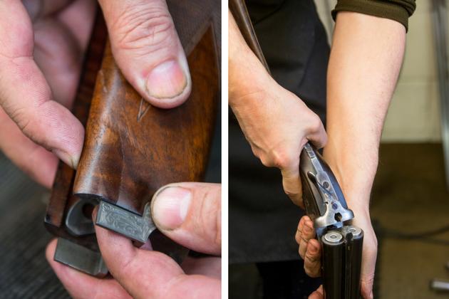 Buying guns second-hand checks