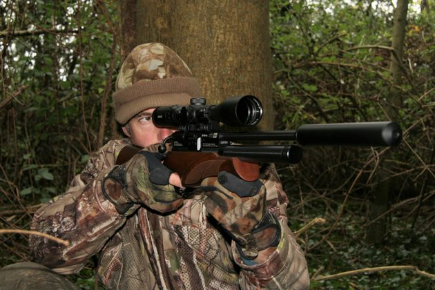 Hunting with a legal-limit air rifle - what's the maximum distance?