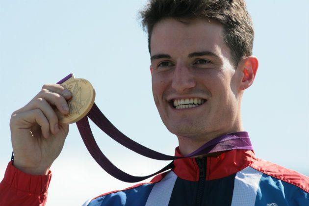 Olympic gold medallist Peter Wilson