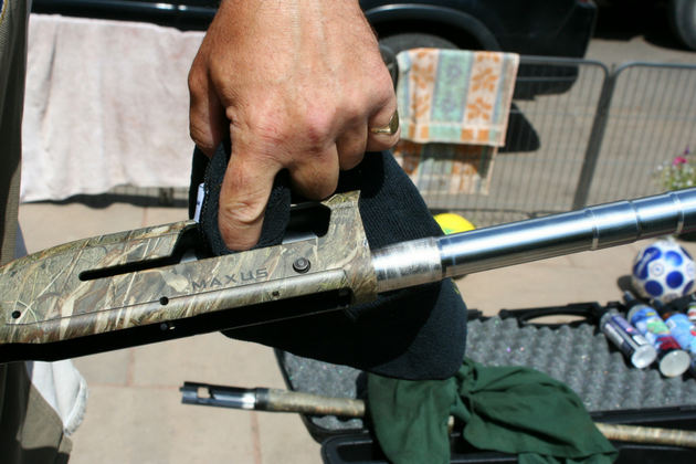 clean a semi-auto shotgun