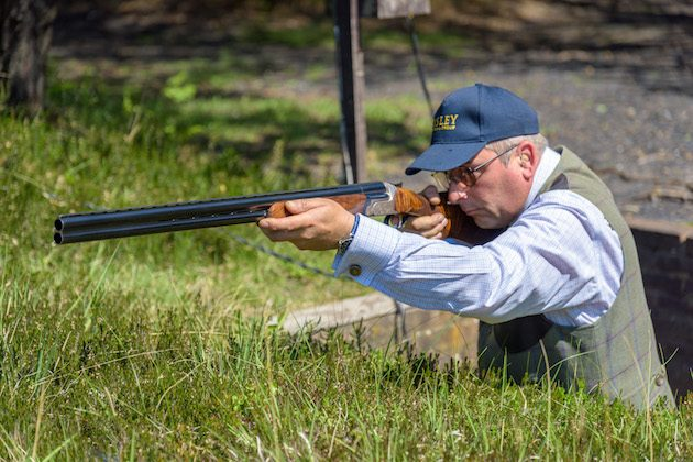 grouse clay target shooting