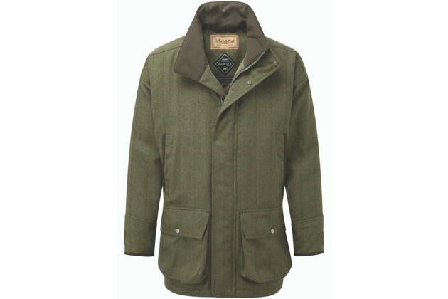 Ptarmigan Tweed Coat - Sandringham Tweed