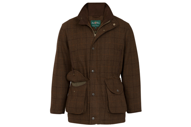 8d86d33c996f9 Alan Paine Combrook Mens Field Coat. Designed for the shooter, this tweed  shooting ...