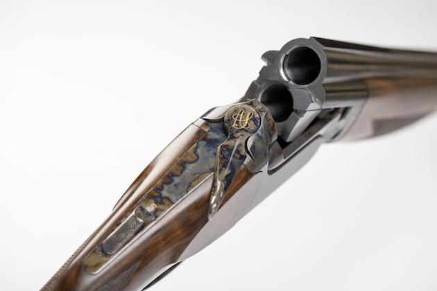 Perugini & Visini HVR - a stunning customised shotgun for clays