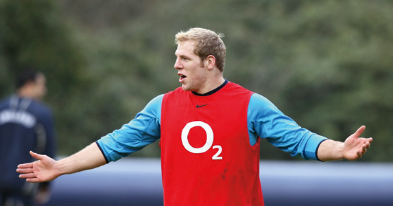 Easter's partner in (comedy) crime - James Haskell